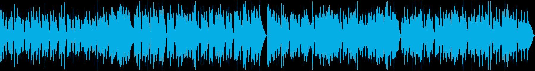 メルヘン風BGMの再生済みの波形