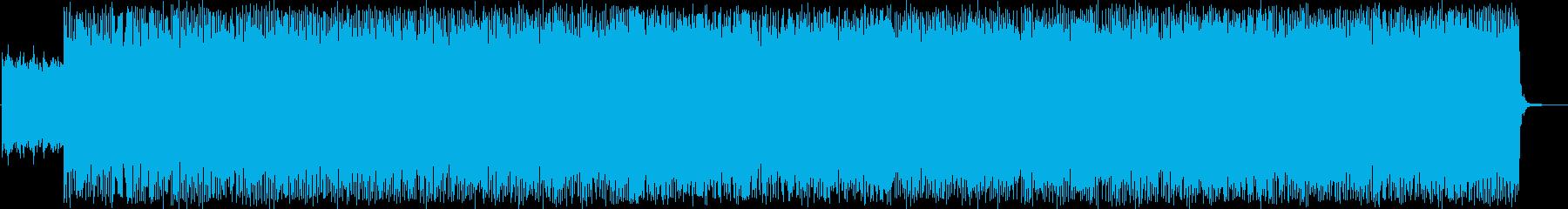ヒステリックなハードコアパンク!の再生済みの波形