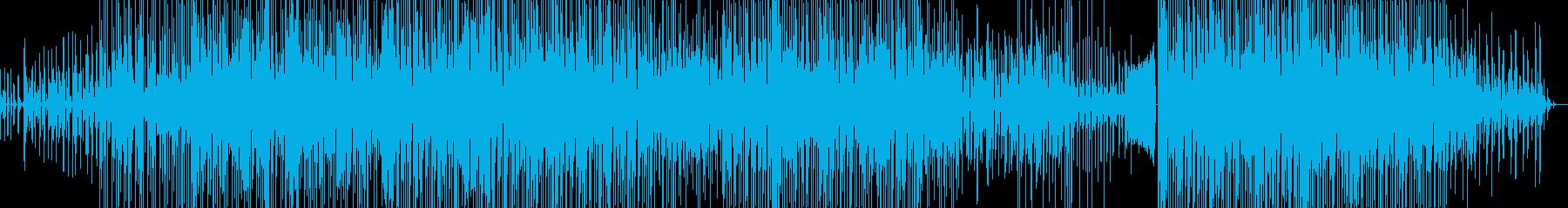 ギターメインのドラムンベースの再生済みの波形