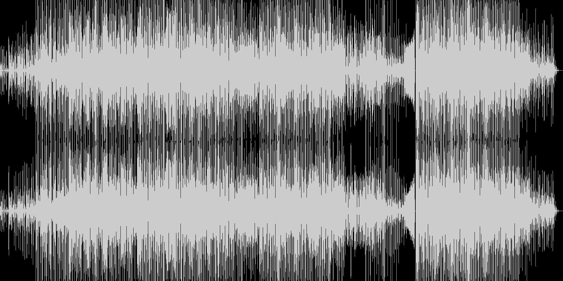 ギターメインのドラムンベースの未再生の波形