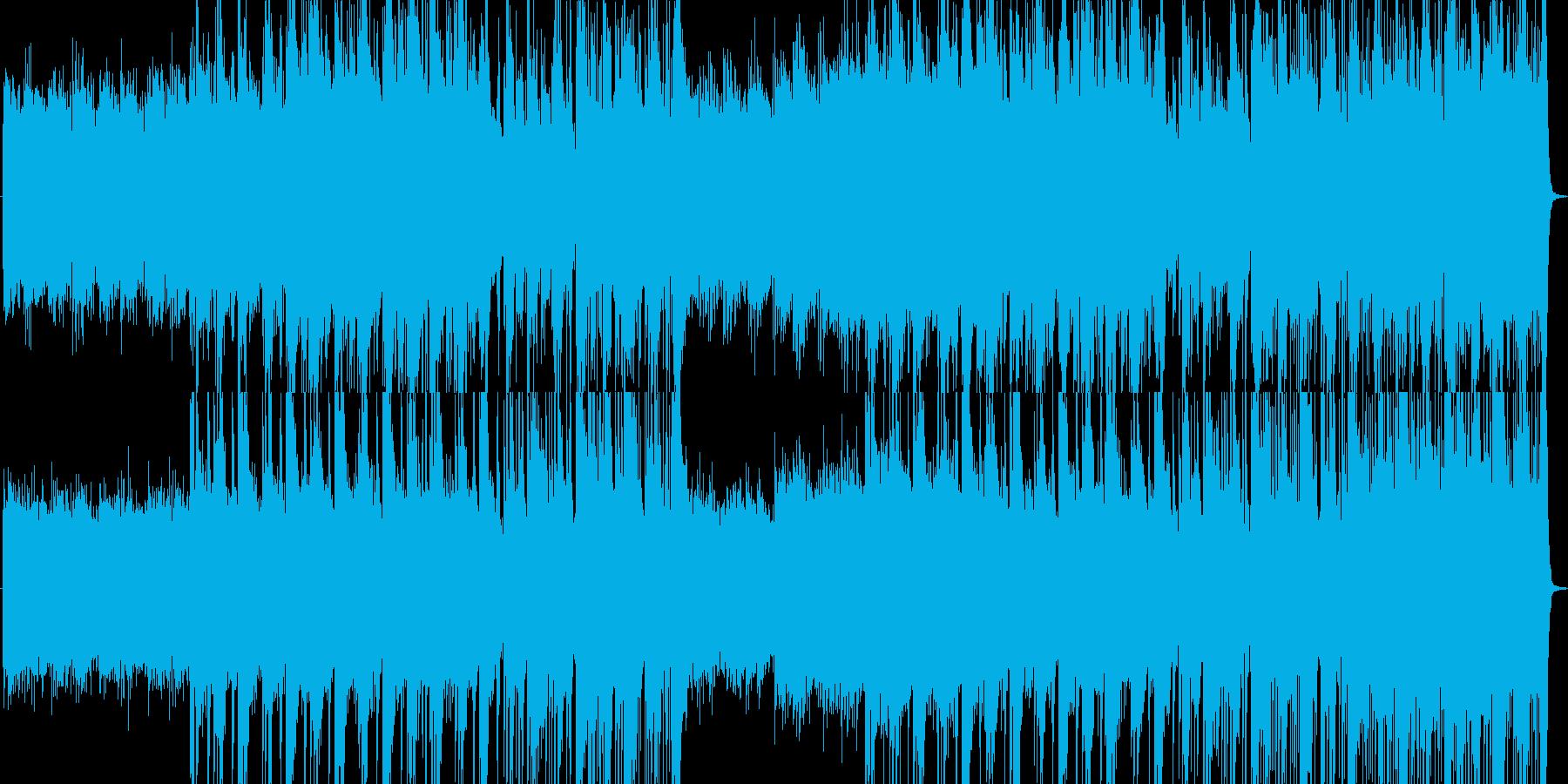幻想的ファンタジーBGMの再生済みの波形