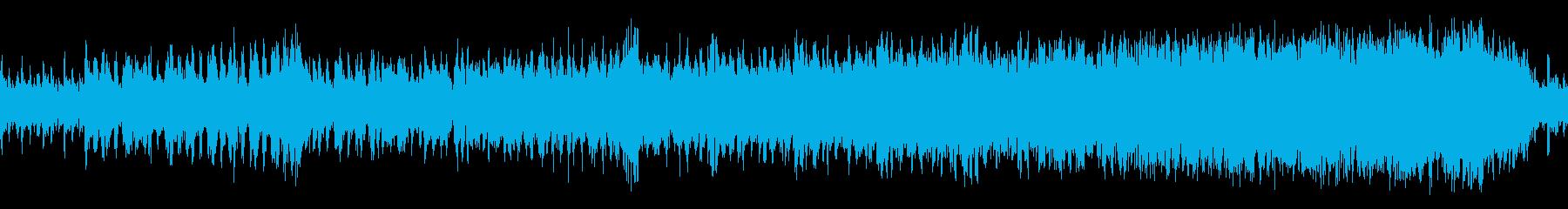 緊迫感のあるボス戦闘BGM【ループ】の再生済みの波形