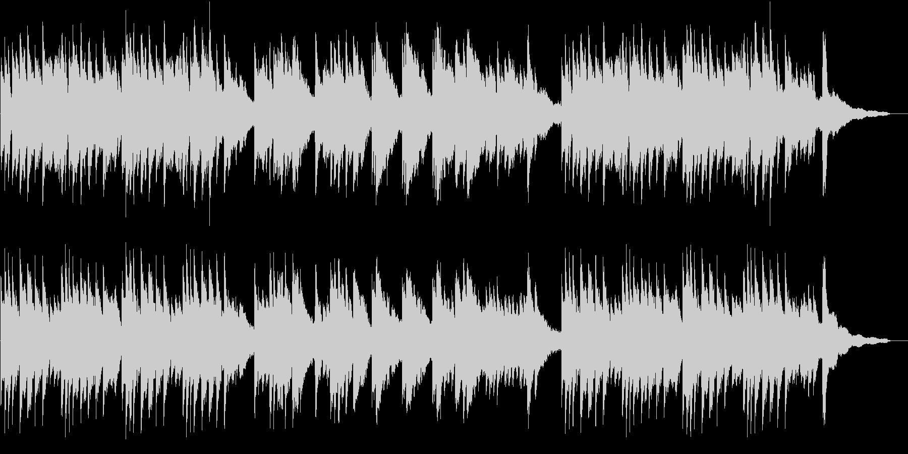メロドラマ2(ピアノ)の未再生の波形
