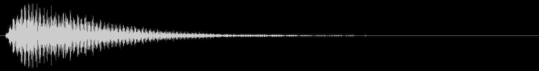 選択/マレット系/優しいの未再生の波形