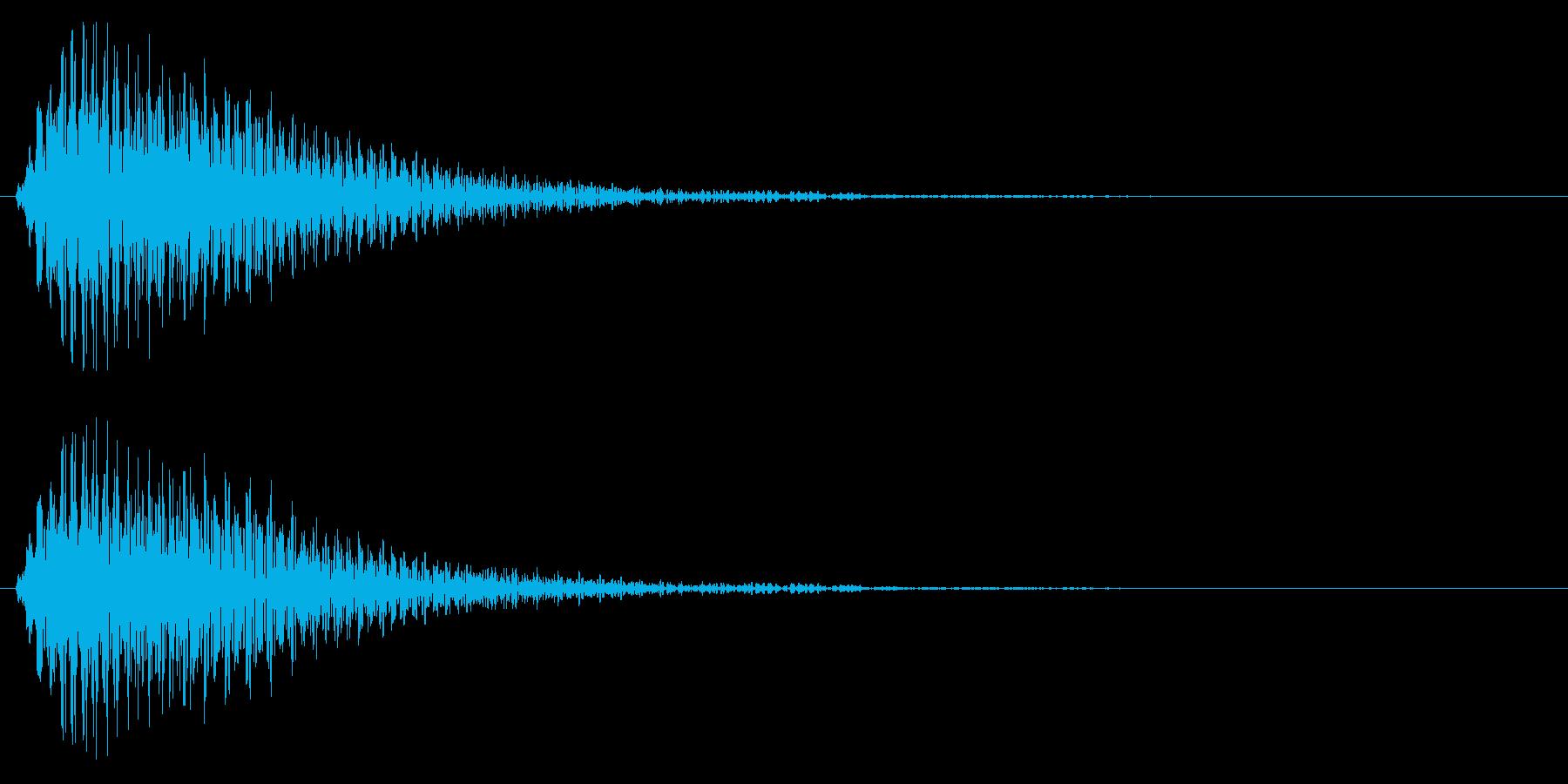 選択/マレット系/優しいの再生済みの波形