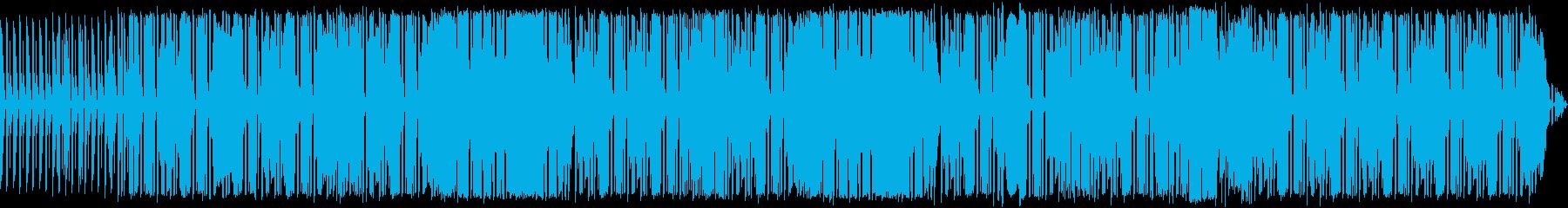 可愛いリズミカルなブルースの再生済みの波形