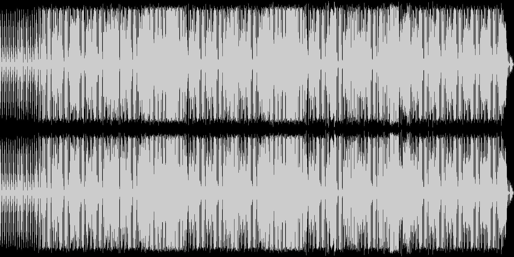 可愛いリズミカルなブルースの未再生の波形