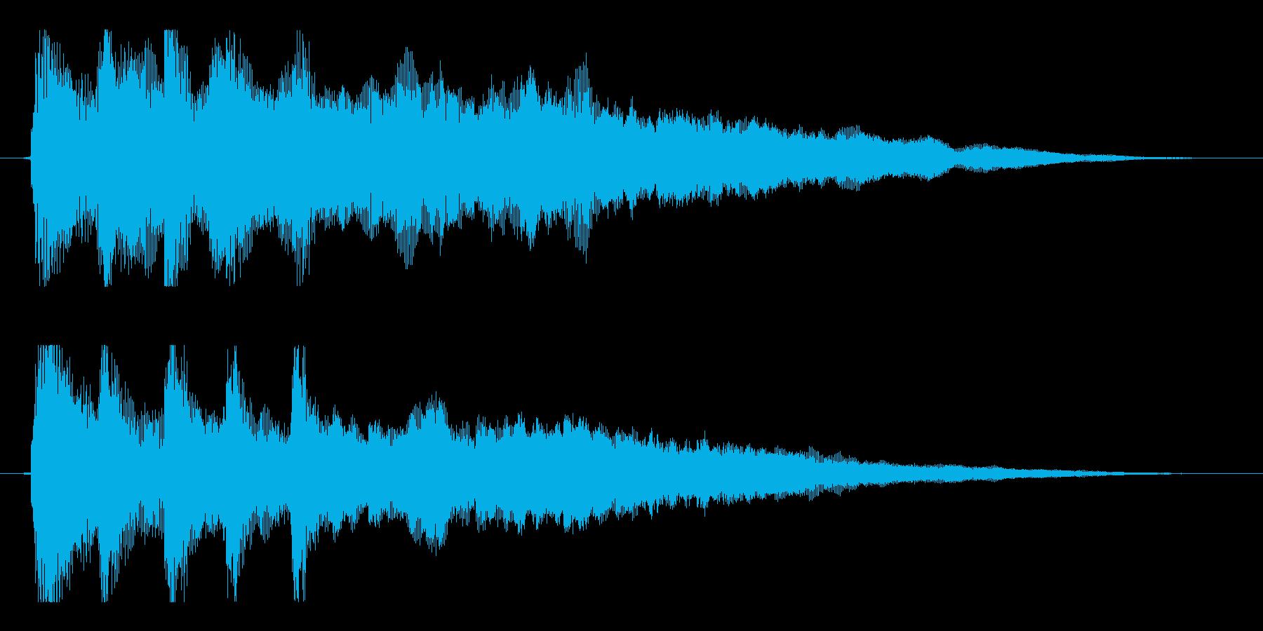 【響きのために1】の再生済みの波形