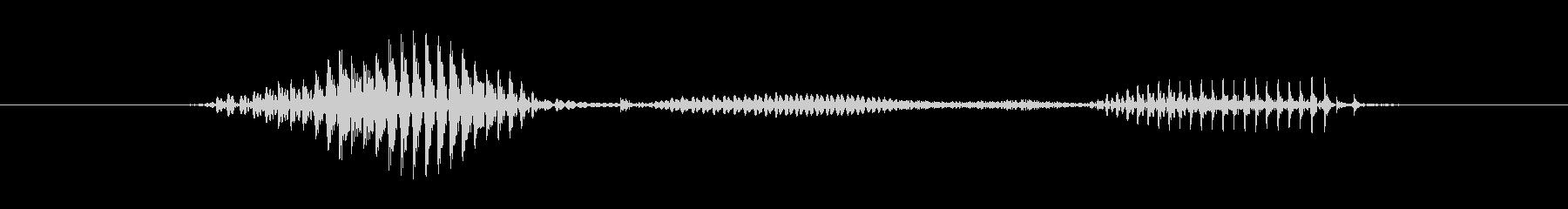 【星座】山羊座の未再生の波形