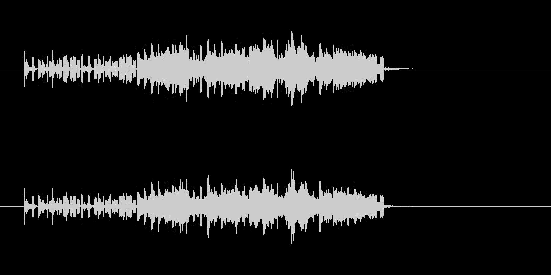 ベース トランペット フルート ほのぼのの未再生の波形