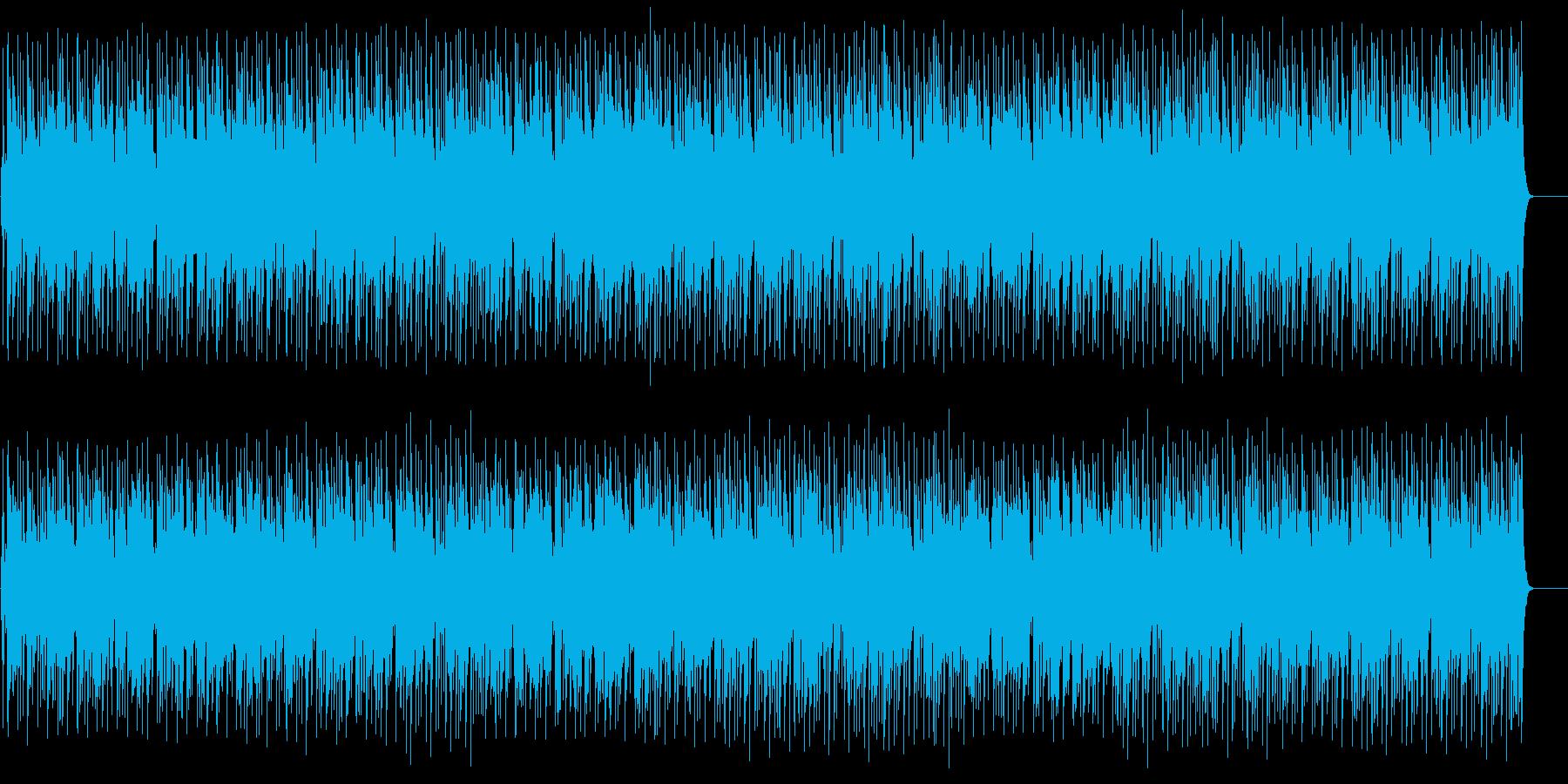 ユーモラスでゆったりしたポップの再生済みの波形