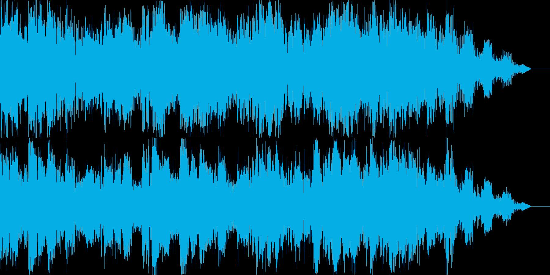 優しさのあるBGMの再生済みの波形
