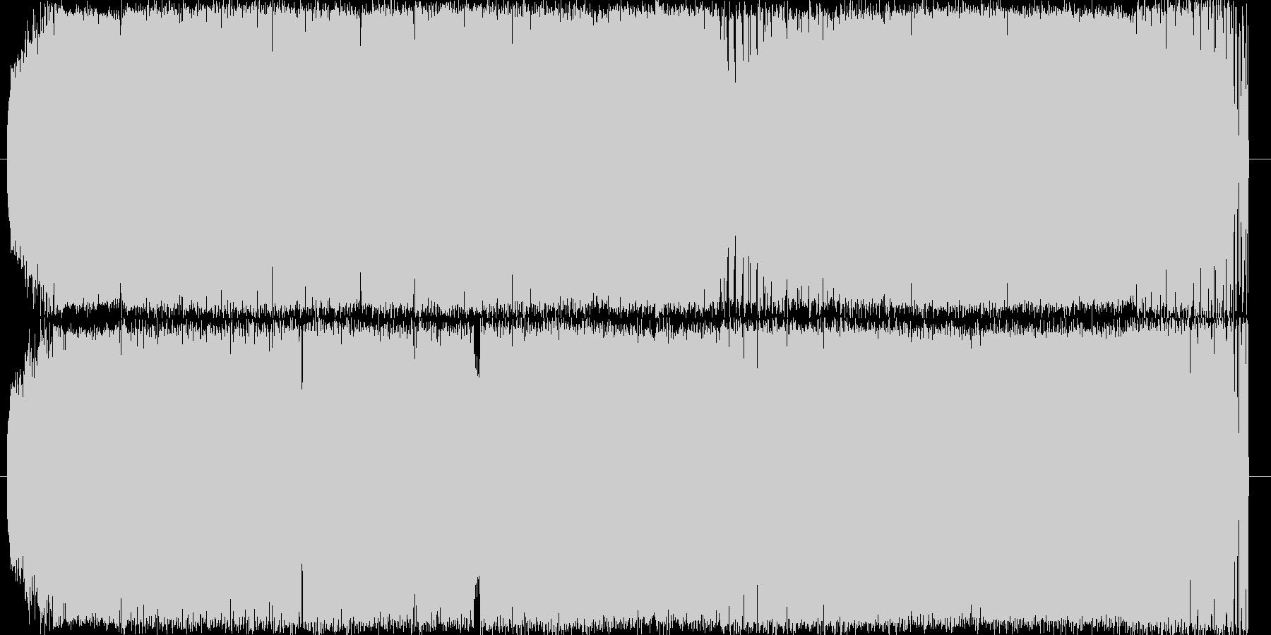 ハウスのビートにジャジーなピアノをのせ…の未再生の波形