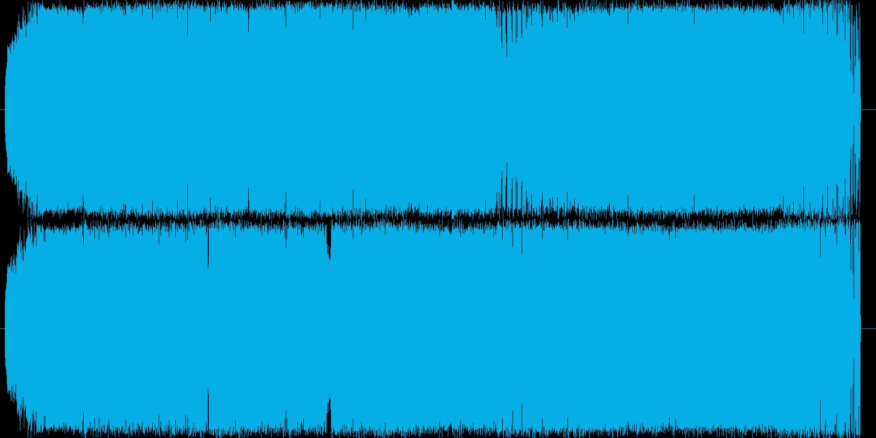ハウスのビートにジャジーなピアノをのせ…の再生済みの波形
