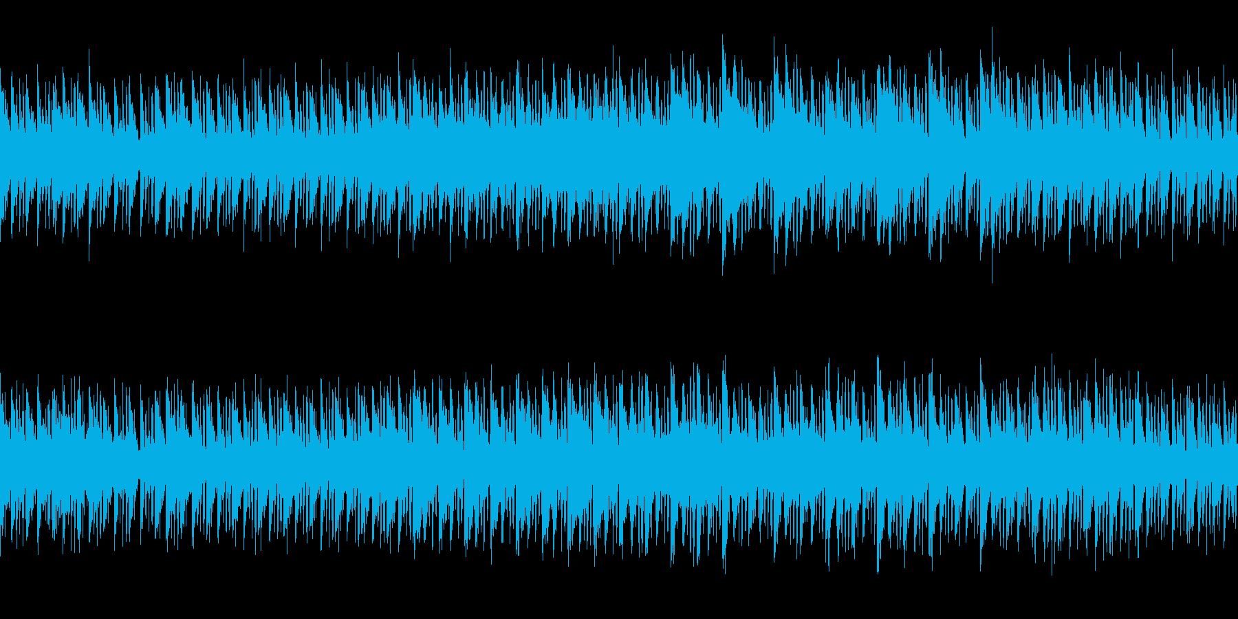 サスペンス感のあるオーガニックなループの再生済みの波形