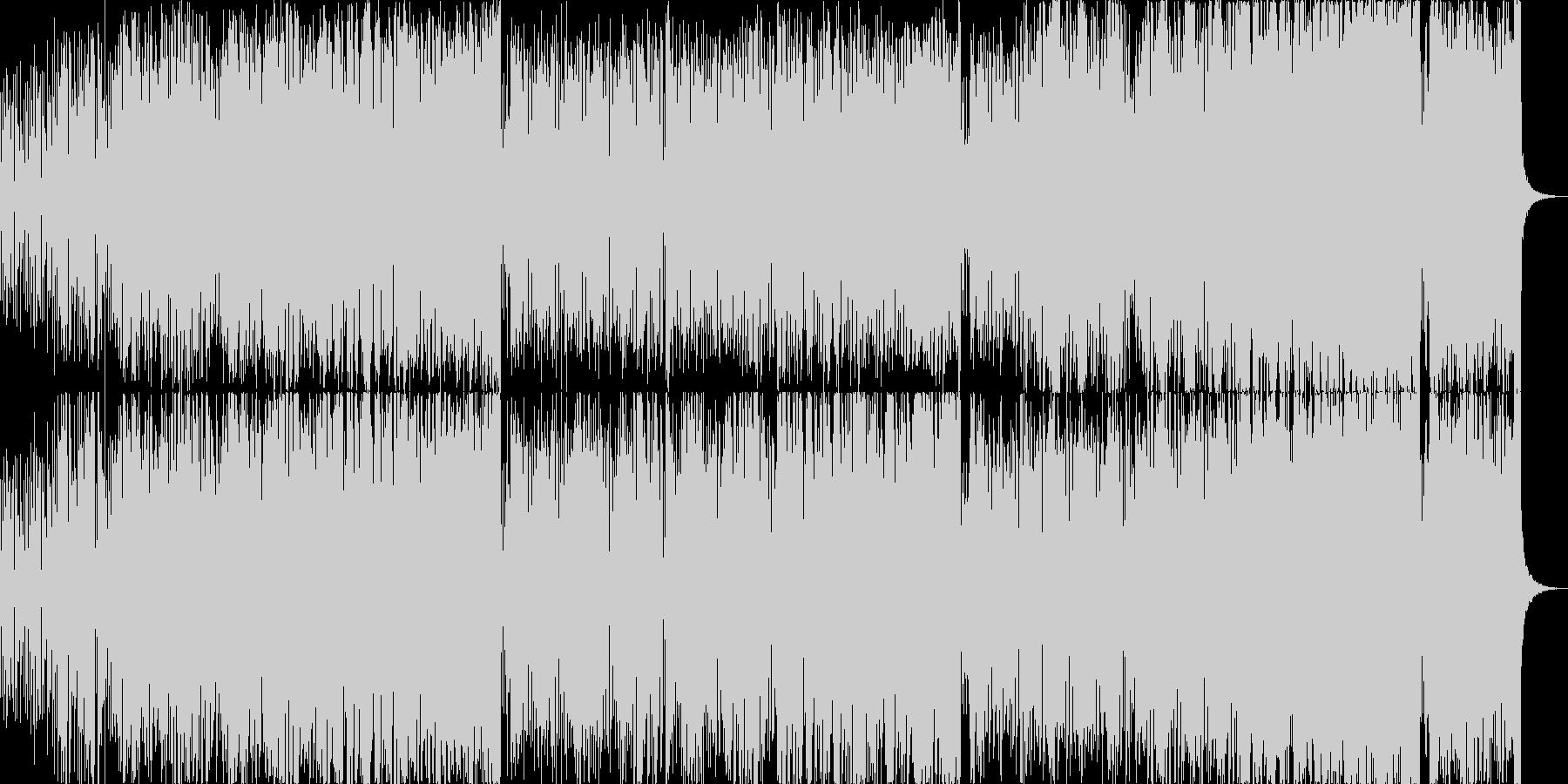 ヴァイオリンによるマイナーボッサの未再生の波形