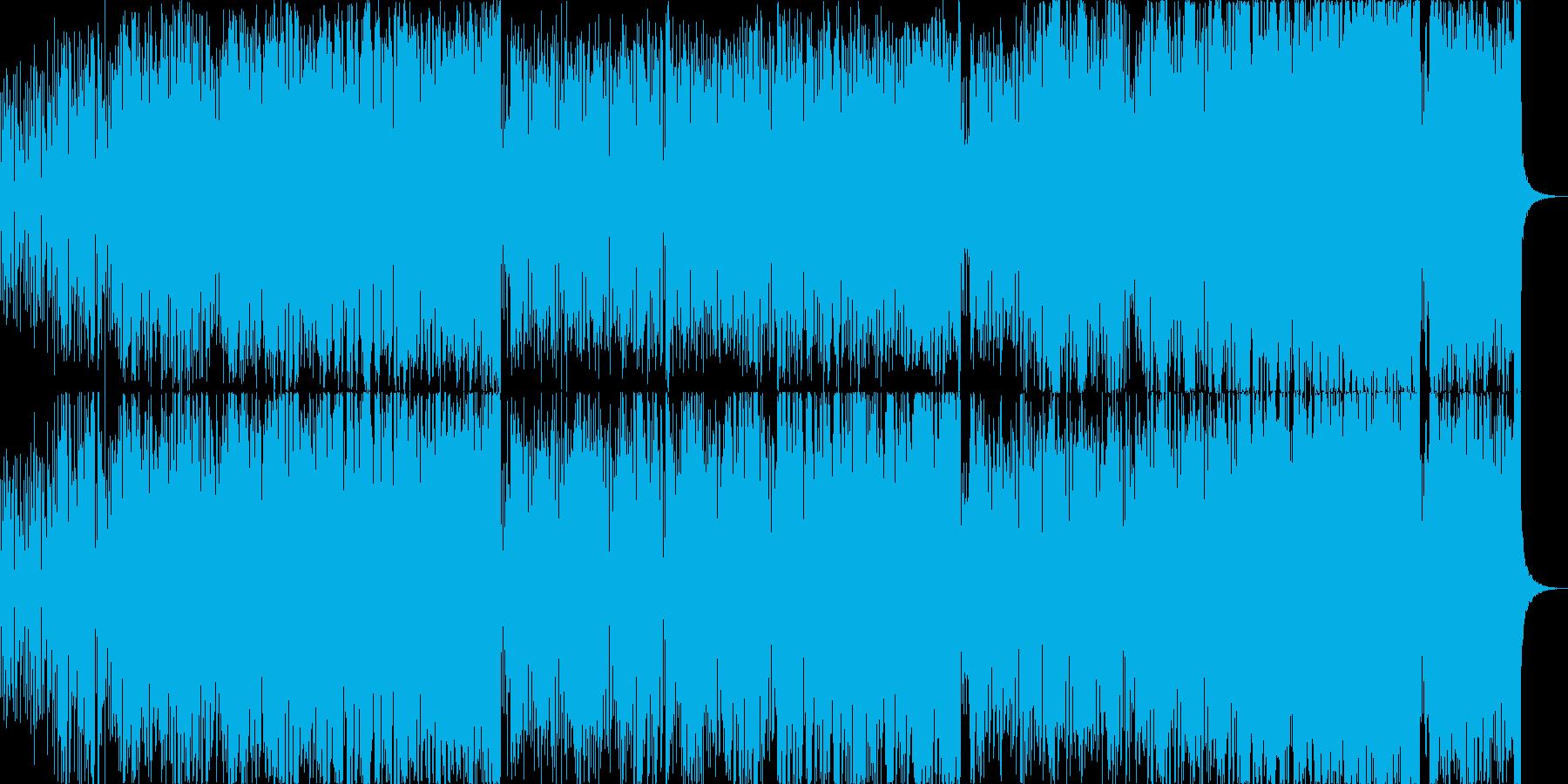 ヴァイオリンによるマイナーボッサの再生済みの波形