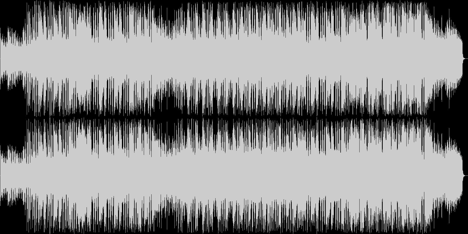 ほのぼのしたシンセ管楽器サウンドの未再生の波形