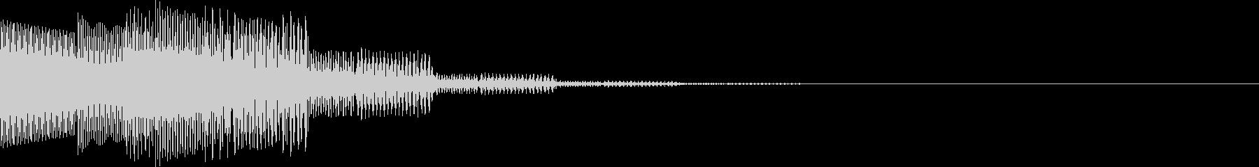 ピロロン(下がる、キャンセル、通信)の未再生の波形