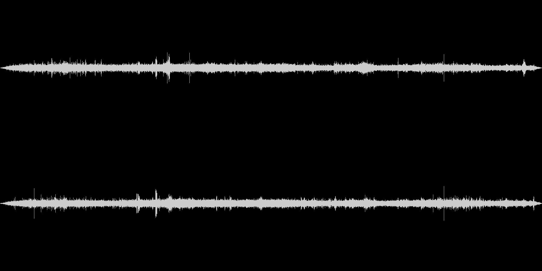 環境音-雑踏(バイノーラル録音)の未再生の波形