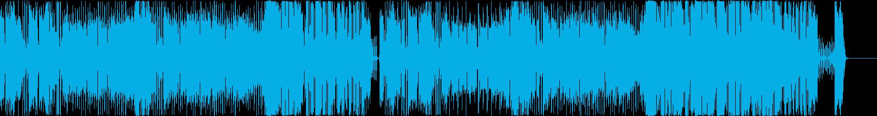 【ドラム・ベース抜き】気分がハイになるひの再生済みの波形