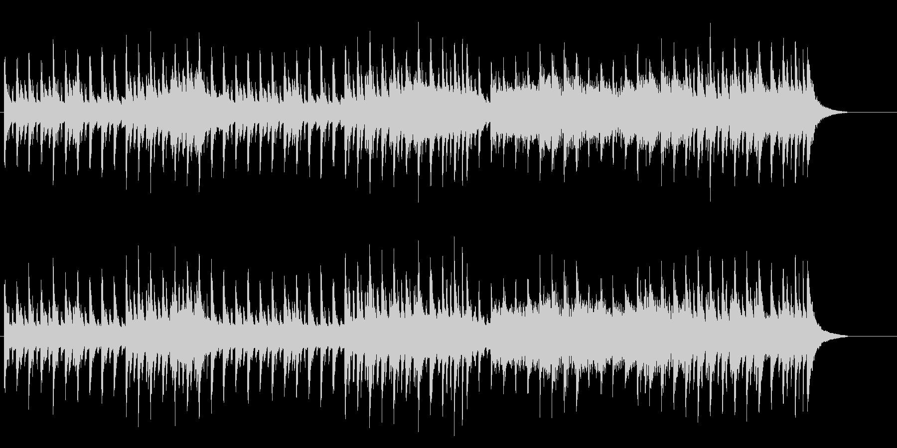 ヨーロピアンカラーのポップスの未再生の波形