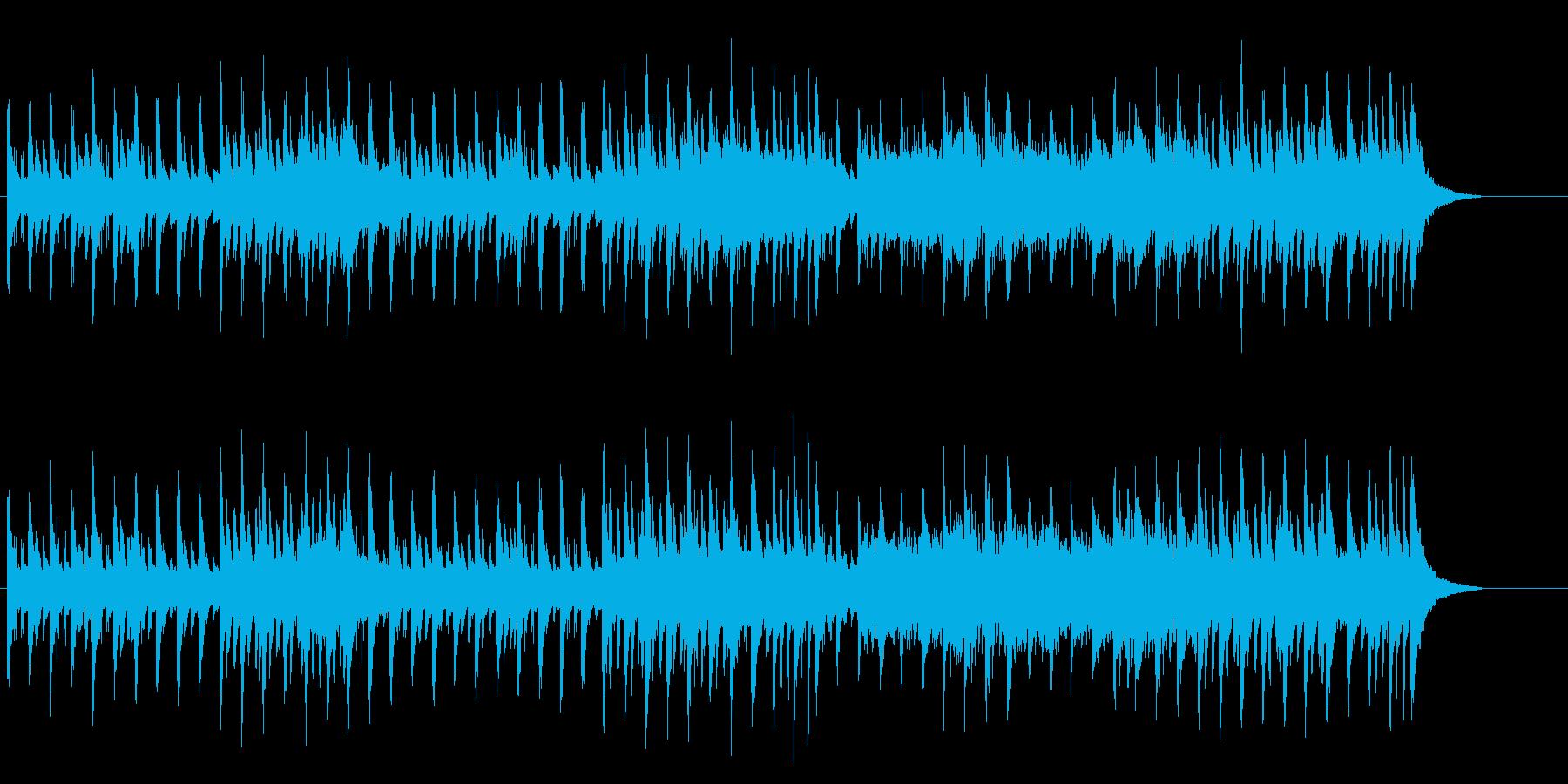 ヨーロピアンカラーのポップスの再生済みの波形