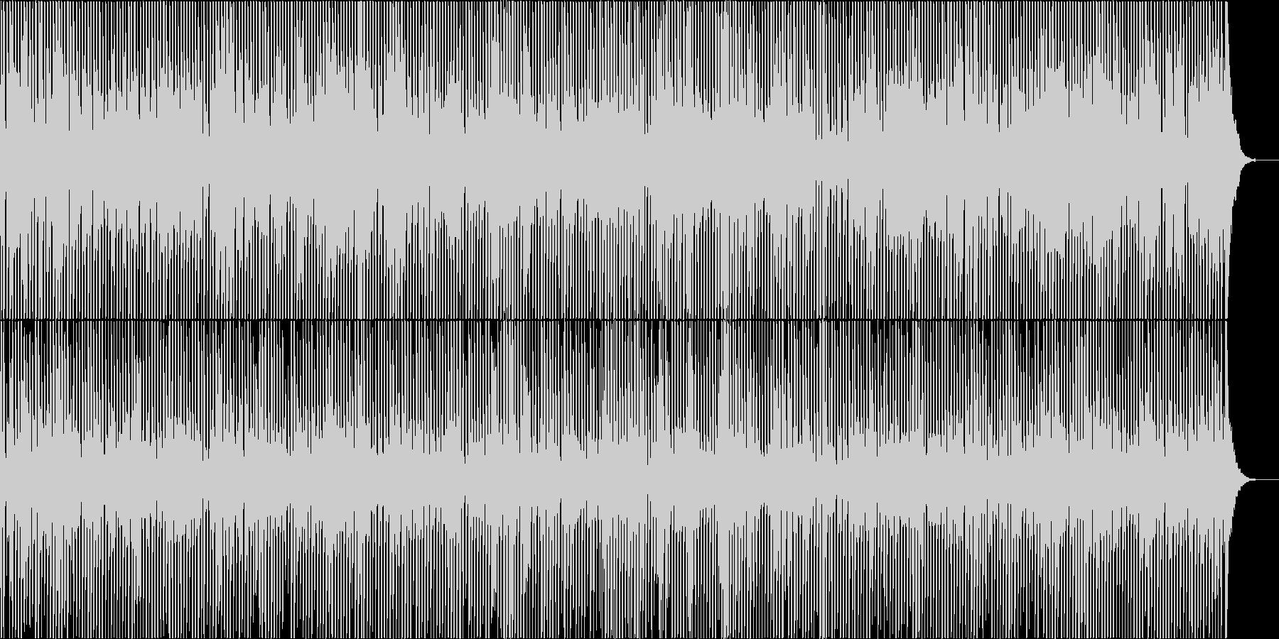 懐かしのジプシージャズの未再生の波形