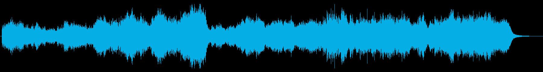美しいゆったりとしたオーケストラの再生済みの波形