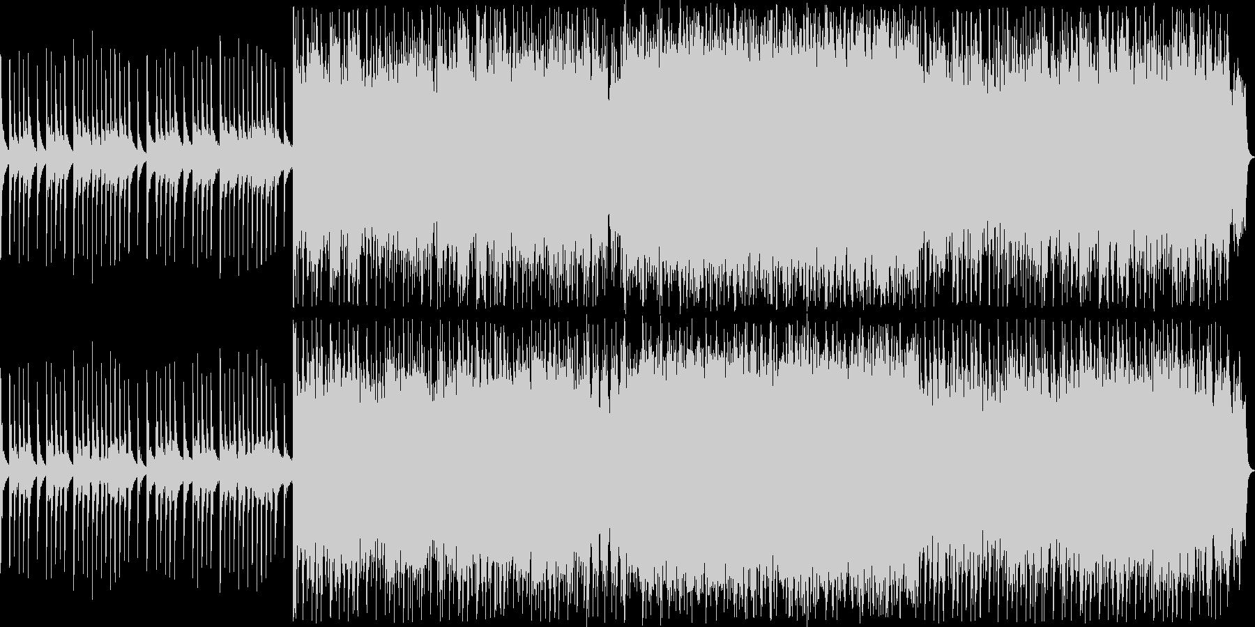 神秘的なストリングスのサウンドの未再生の波形