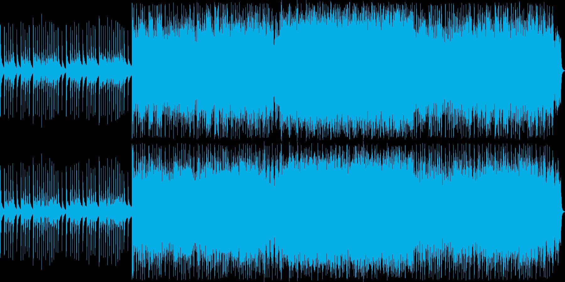 神秘的なストリングスのサウンドの再生済みの波形
