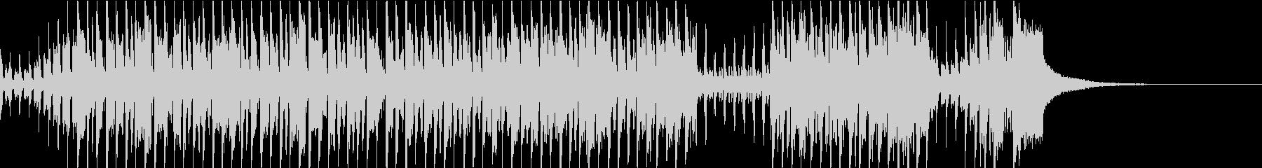 賑やかな中国風のBGM 二胡・笛子の未再生の波形