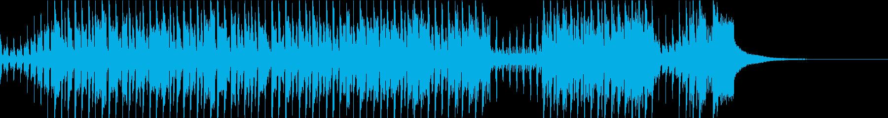 賑やかな中国風のBGM 二胡・笛子の再生済みの波形
