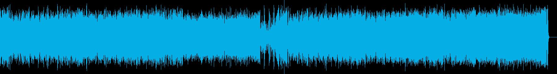 歯切れ良い軽快フュージョン・サウンドの再生済みの波形