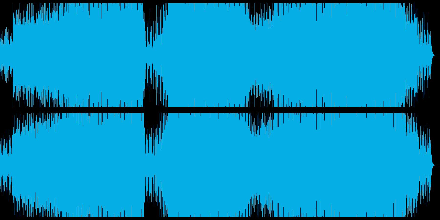 哀愁感の在るハウスミュージック。の再生済みの波形