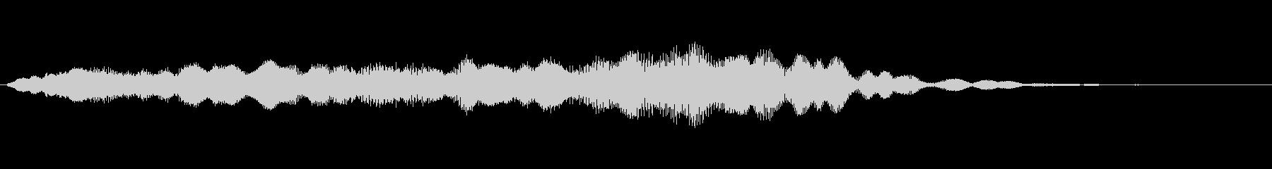 キラリンキラリンキラリリーン/ゆるいベルの未再生の波形