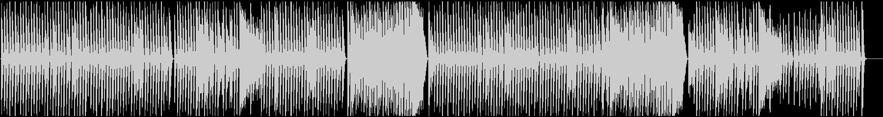 ピアノBGM ヘタうま、やみつき系の未再生の波形
