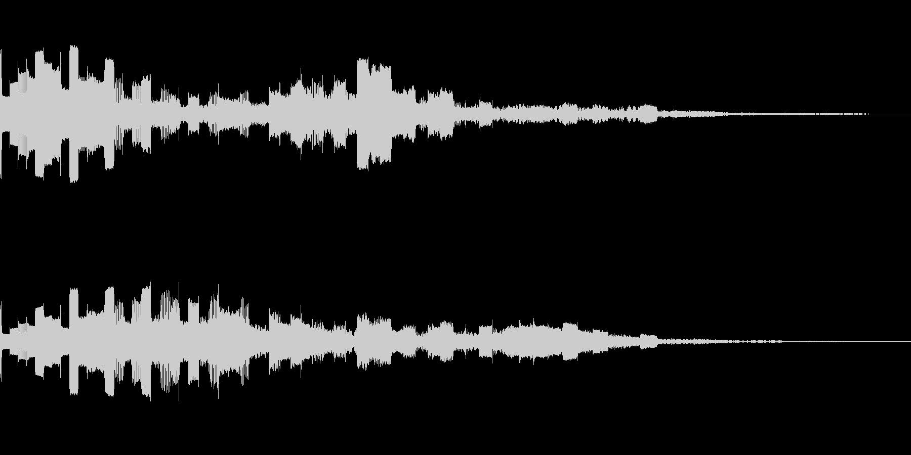 ピココン(電子音_01)の未再生の波形