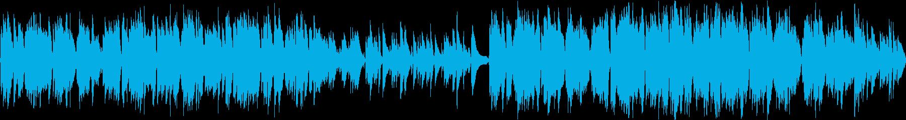 RPGの村で流れるケルト音楽・ループ版の再生済みの波形