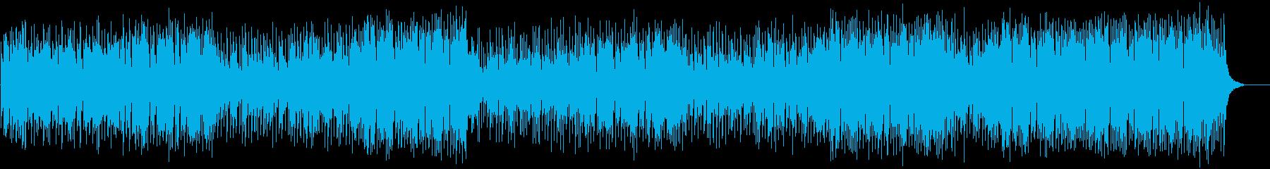 充実したゆったりポップ(フルサイズ)の再生済みの波形