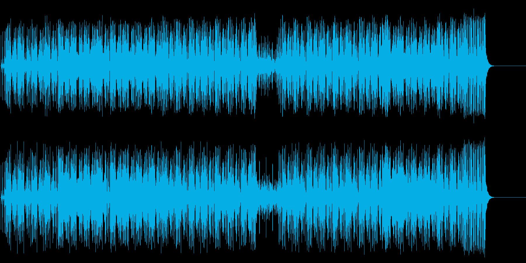 クールでスタイリッシュなテクノ/ポップの再生済みの波形