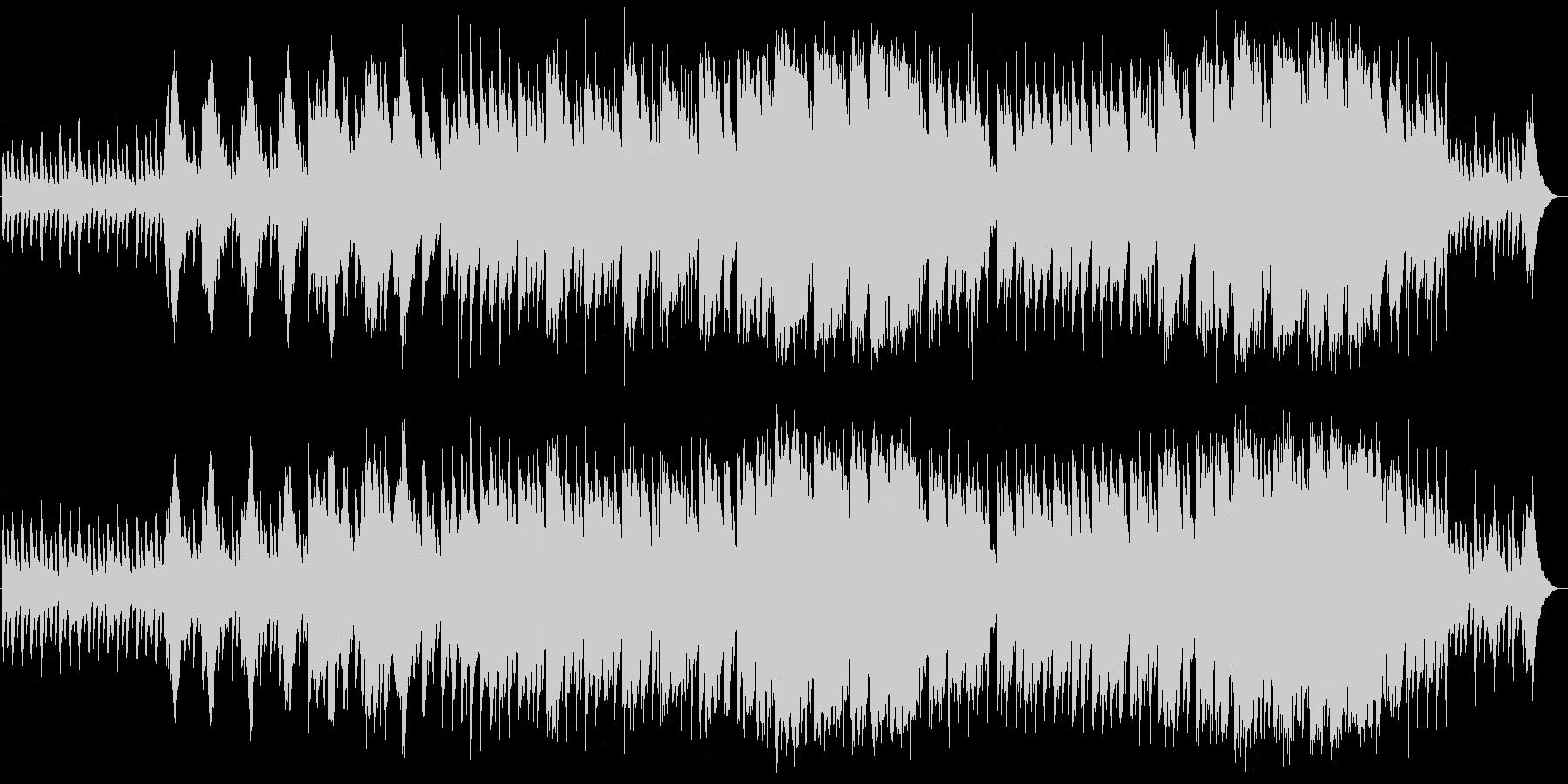 切なく美しいバイオリンピアノサウンドの未再生の波形