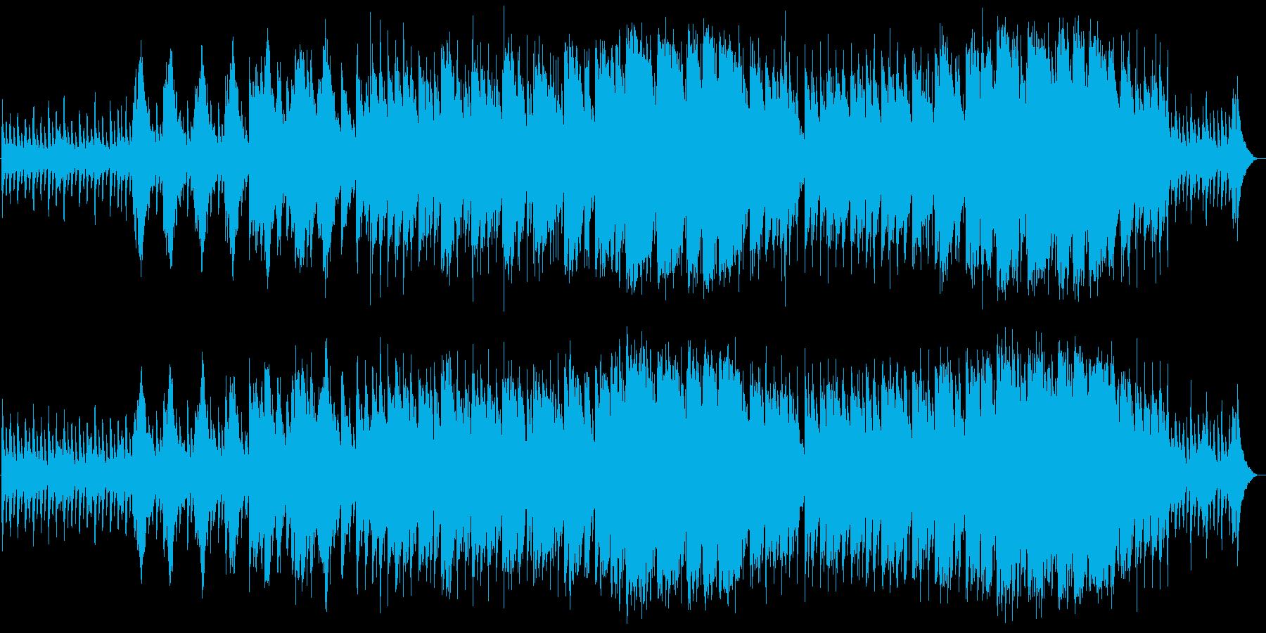 切なく美しいバイオリンピアノサウンドの再生済みの波形