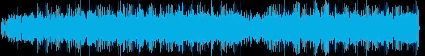 ゲームに合う宇宙的ピコピコ曲の再生済みの波形
