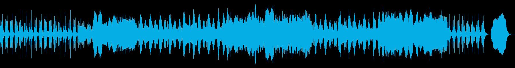 映像 ナレーションBGM RPG 弦楽の再生済みの波形