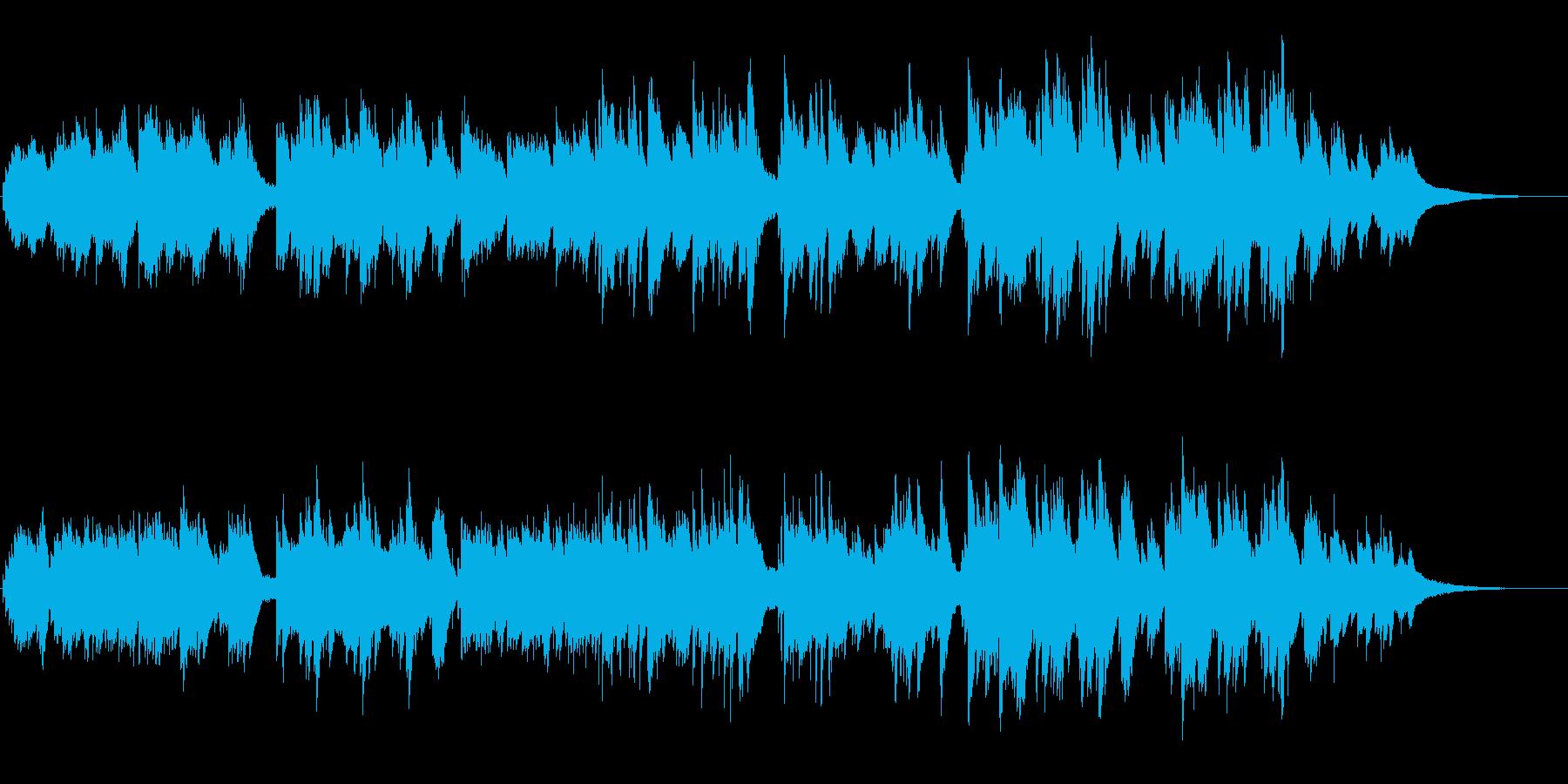 暗く切ない、ドラマチックなピアノソロの再生済みの波形