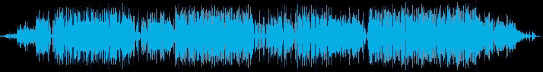 キラキラしたエレピが印象的の再生済みの波形