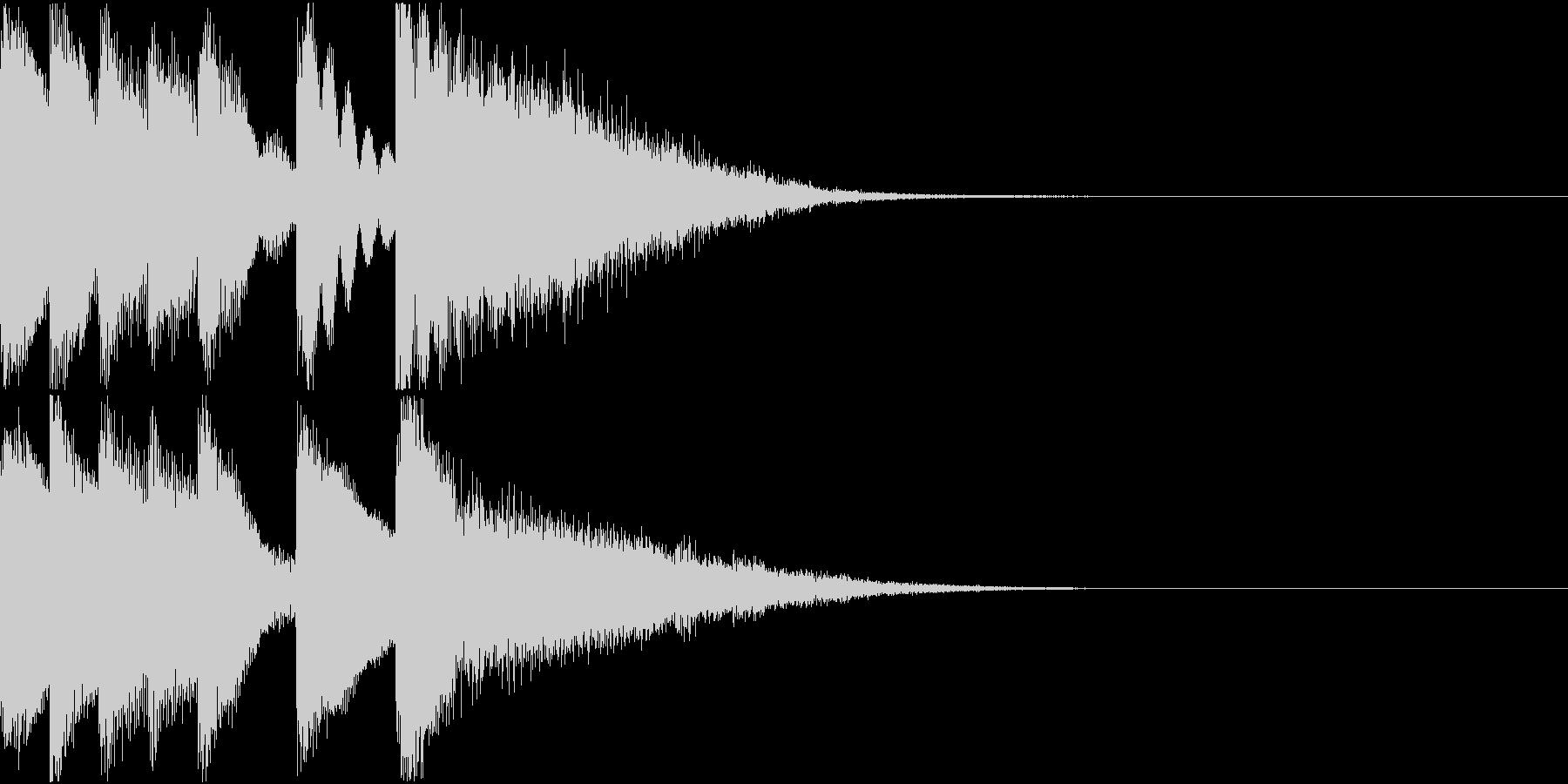 シンプル ベル チャイナ 中国風 08の未再生の波形
