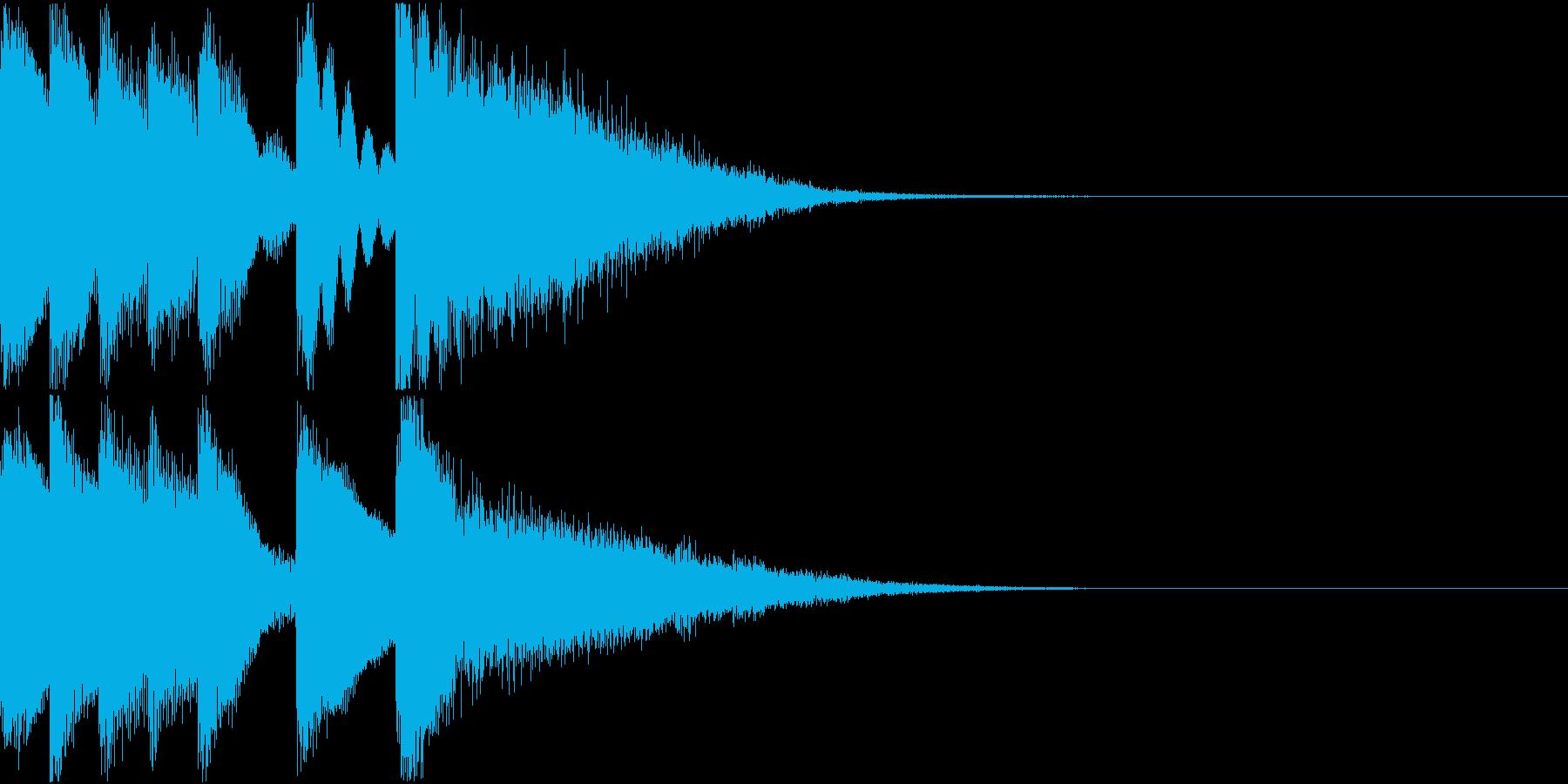 シンプル ベル チャイナ 中国風 08の再生済みの波形