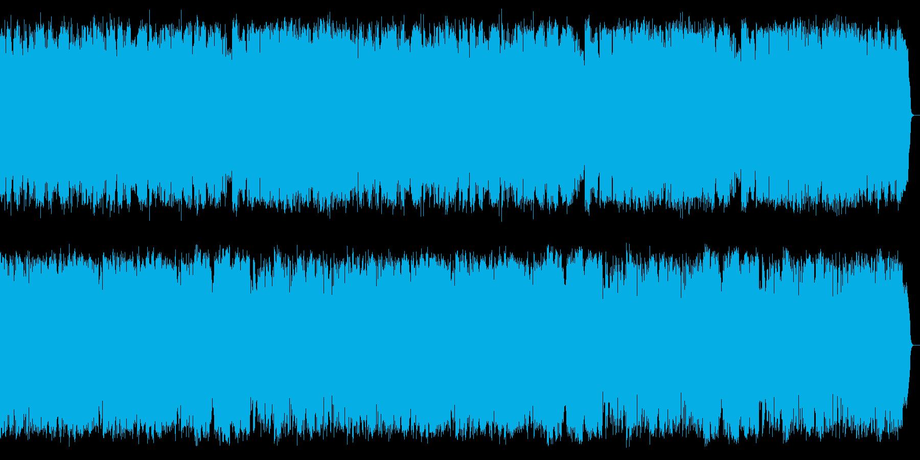 哀愁ムード溢れる昭和歌謡をサックスが演奏の再生済みの波形